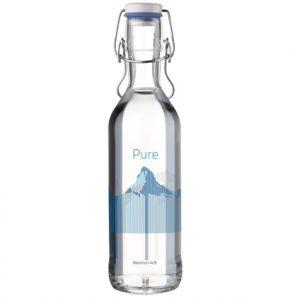 Glass bottle Pure Bottle 75cl blue Mountains