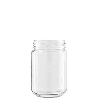 Jar 156 ml white TO53 CEE