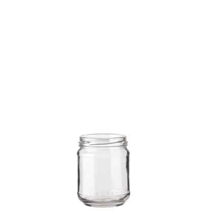 Jar 212 ml white TO63