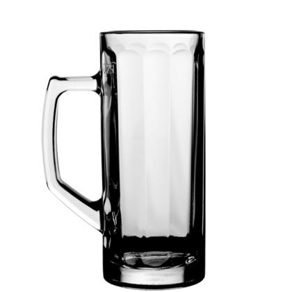 Reno beer glass mug 32 cl 2.5dl sealed