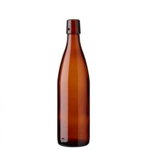 Swing top beer bottle 58cl SBV brown