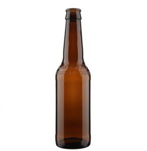 Swiss Craft Beer bottle crown 33cl brown