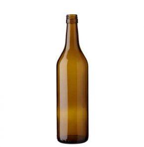 Vaud wine bottle BVS 70 cl oak