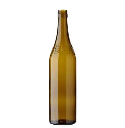Vigneron Encaveur CH wine bottle BVS 70cl oak