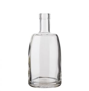 Whisky bottle bartop 50 cl white Natura
