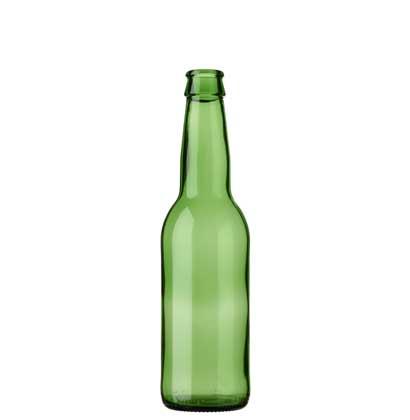 Beer bottle crown 33cl Ale green (MW)