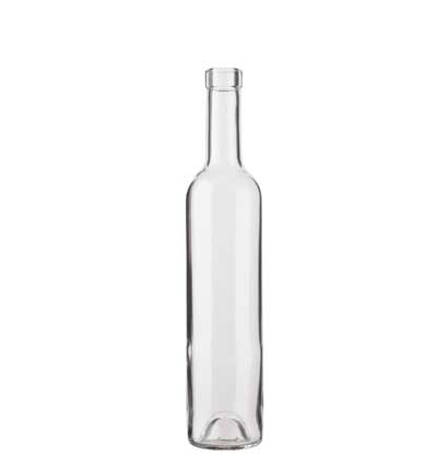 Bordeaux wine bottle bartop 50cl white Harmonie