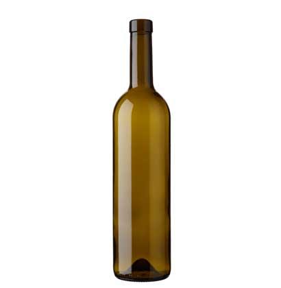 Bordeaux wine bottle bartop 75 cl olive green Harmonie