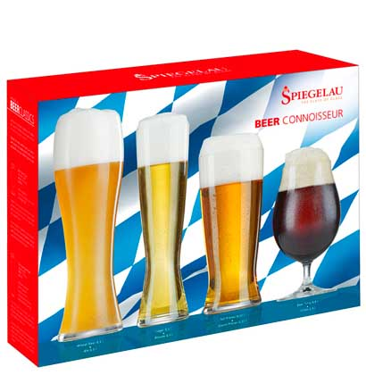 Connoisseur Beer glasses Kit