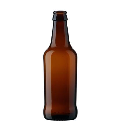 Craft Beer Beer bottle crown 33cl Tapered brown