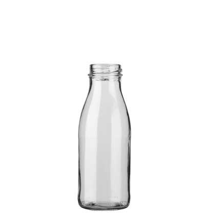 Milk bottle TO38/10mm 25 cl white