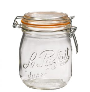 Swing top jar 750ml Le Parfait