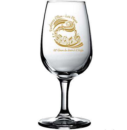 Personalized wine glass