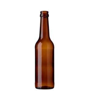 Beer bottle crown 33cl Ale brown (MW)