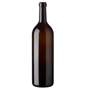 Bordeaux wine bottle cetie 3-Liter antique Italiana