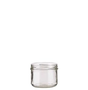 Jar 225ml TO82 weiss