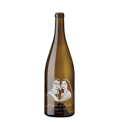 Bouteilles à vin mariage