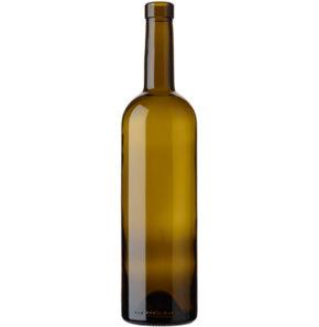 Bordeaux Wine Bottle bartop 18.5mm 75 cl oak Europe H63