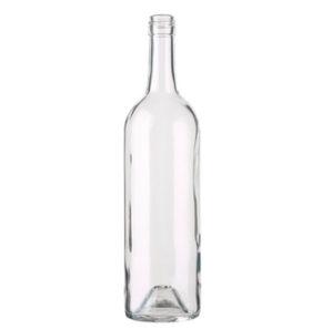 Bordeaux Wine Bottle BVS 28H60 75cl White Harmonie