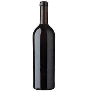 Bordeaux wine bottle cetie 75cl oak Imperiale