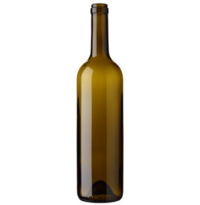 Bouteille à vin Bordelaise cétie 17.5mm 75 cl olive Europe 2