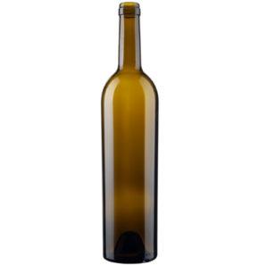 Bouteille à vin Bordelaise élite cétie 75cl chêne