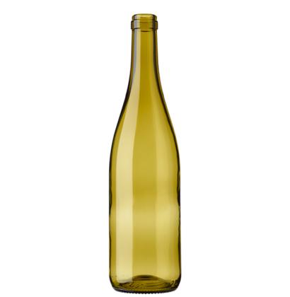 Bouteille à vin Bourgogne cétie 70 cl feuille-morte