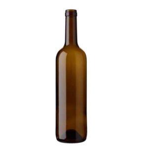Bordeaux wine bottle cetie 17.5mm 75cl antique Europe H70mm