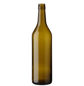 Weinflasche Waadtländer BVS 70cl olive