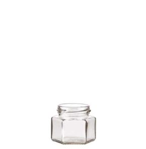 6 facets Jam Jar 105ml TO53 white
