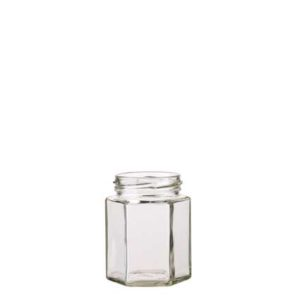 6 facets Jam Jar 196ml TO58 white