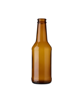 Beer bottle crown 25cl Christmas brown