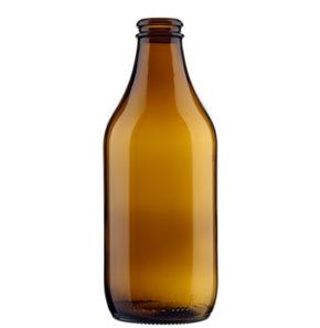Beer Bottle crown 33cl Standard 4 brown