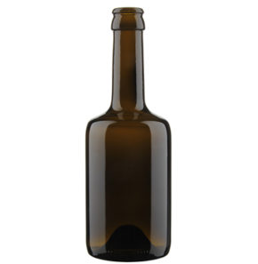 Beer Bottle crown 33cl Tonneau brown