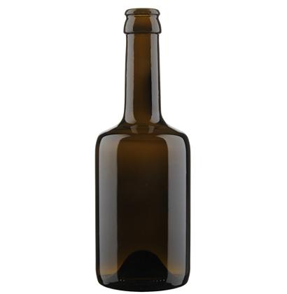 Beer Bottle crown 33cl Tonneau brown