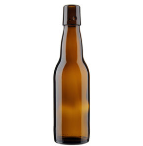 Beer Bottle swing Top 33cl Bavaria brown
