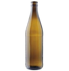 Bierflasche Kronkork 50cl NRW Export braun (EW)