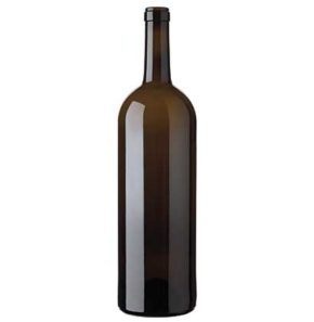 Bordeaux Magnum wine bottle cetie 1.5 l antique Prestige