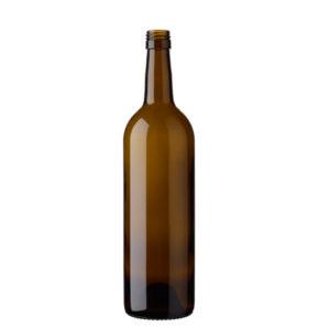 Bordeaux wine bottle BVS 75 cl antique Tradition