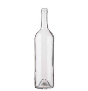Bordeaux wine bottle BVS28H60 75 cl white Tradition