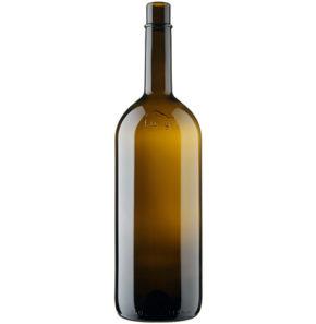 Bouteille à vin Bordelaise Fully 150cl antique Magnum