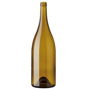 Burgundy Magnum wine bottle cetie 150 cl russet
