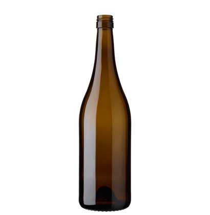 Burgundy wine bottle BVS 75 cl antique Tradition