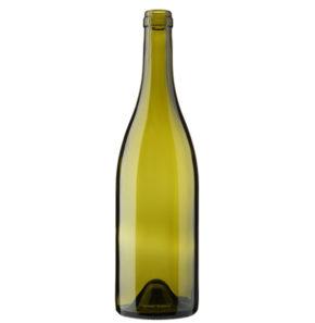 Burgundy wine bottle cetie 75cl russet Tradition