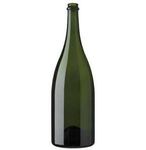Champagne bottle 1.5 l green heavy magnum