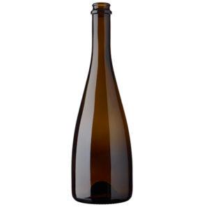 Champagne bottle crown 75 cl antique Idea