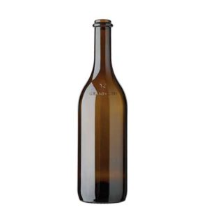 Grand Cru Valais wine bottle Anello 37.5 cl antique
