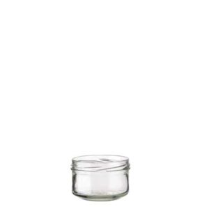 Jam Jar 186 ml white TO82