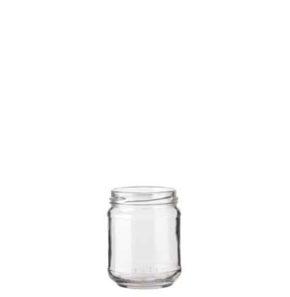 Jam Jar 212 ml white TO63