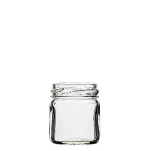 Jam Jar 41 ml white TO43